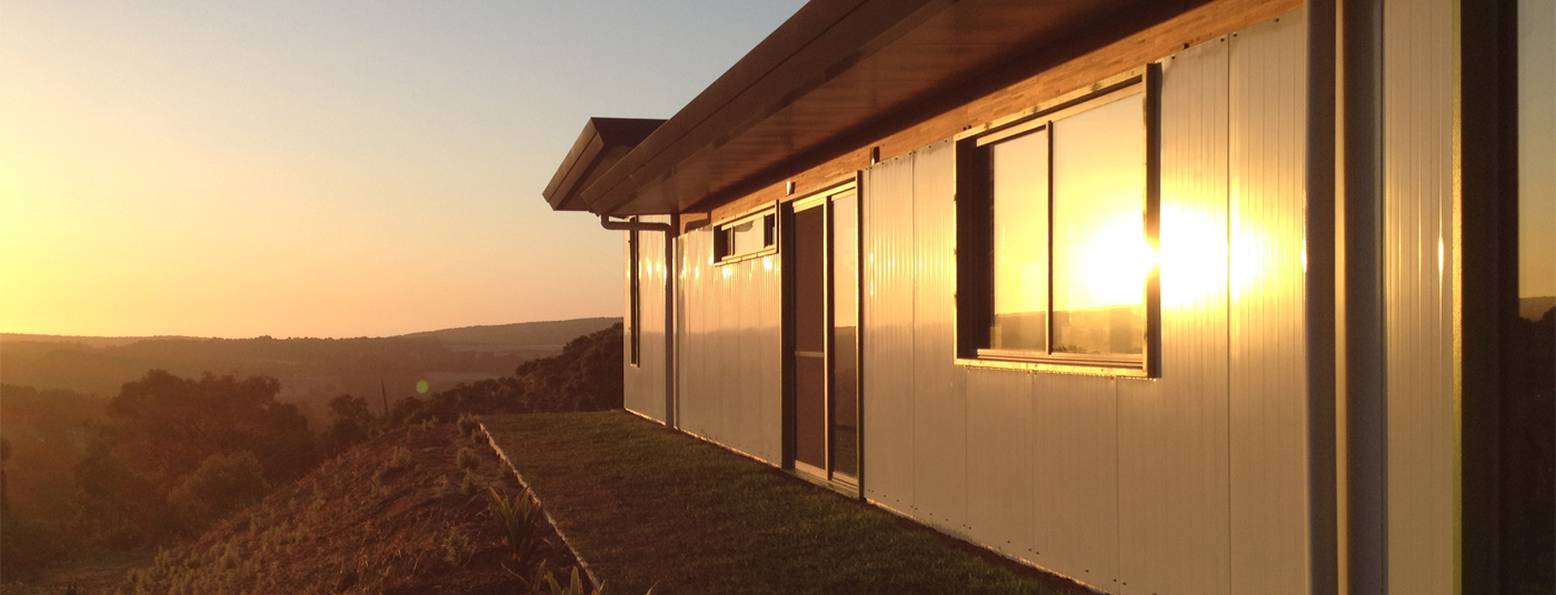 A designer's dream with sunset views